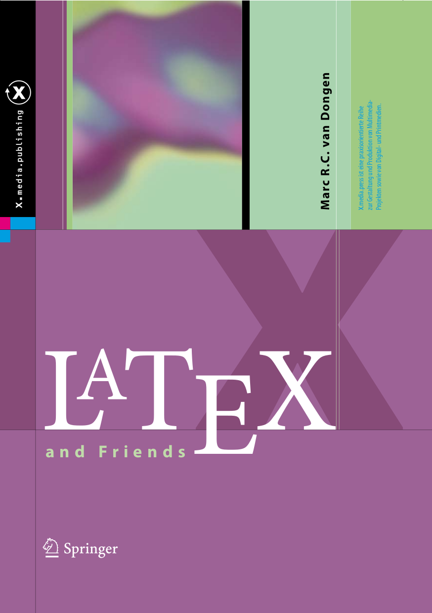 Books about TeX, typography and friends