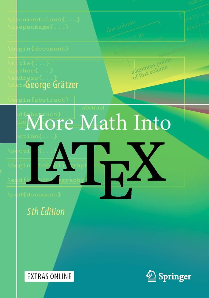 Books about tex typography and friends more math into latex 5th edition fandeluxe Image collections