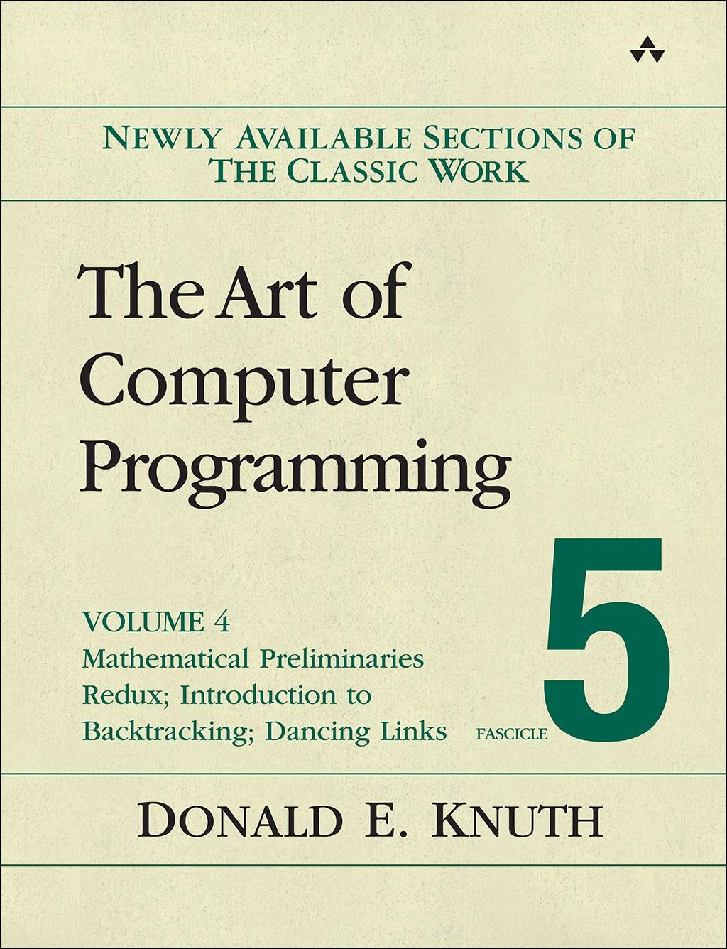 About The Art Of Puter Programming Volume 4 Fascicle 5